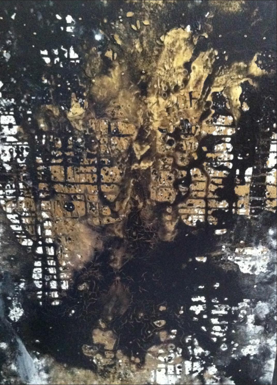 Acrylic on Canvas 24 x 36, 2012