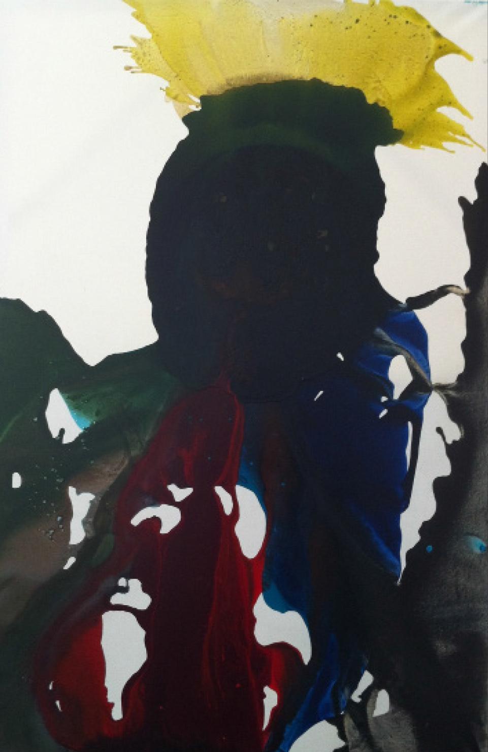 Acrylic on Canvas 48 x 96, 2012