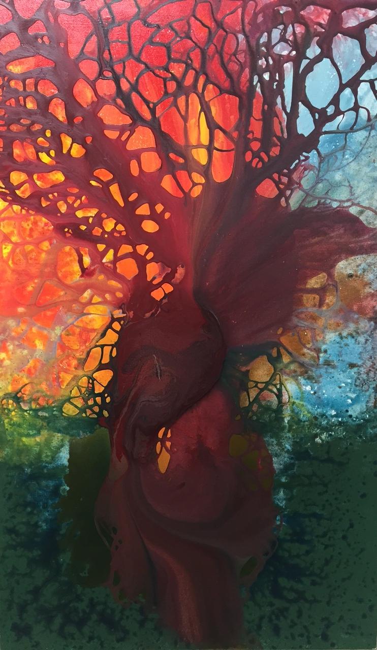 Acrylic on Canvas 36 x 60, 2015