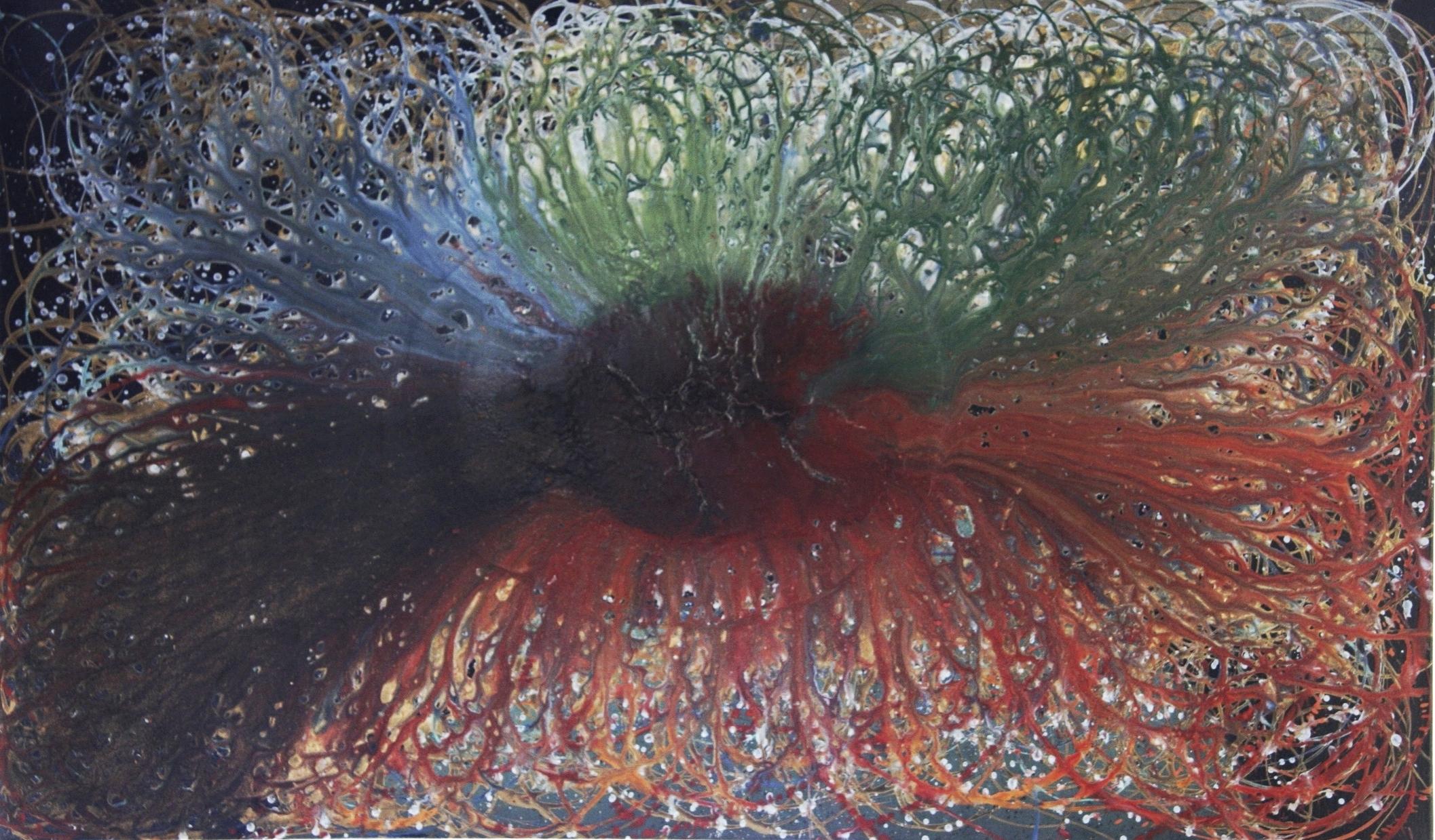 Acrylic on Canvas 36 x 60, 2013