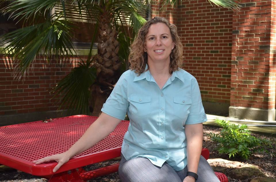 New Hogg Middle School Principal Angela Sugarek.