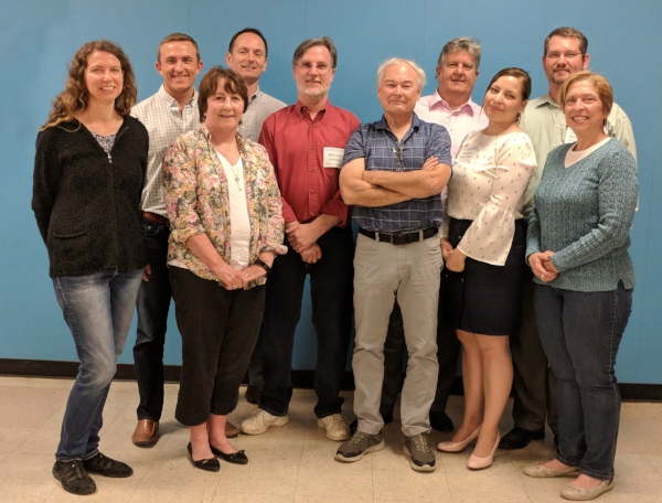The Woodland-Heights Civic Association Board of Directors for 2018-19