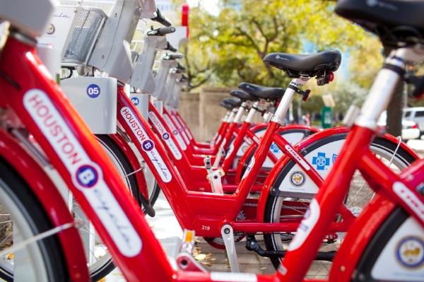 Red bikes in a row_Courtesy of Houston Bike Share.jpg