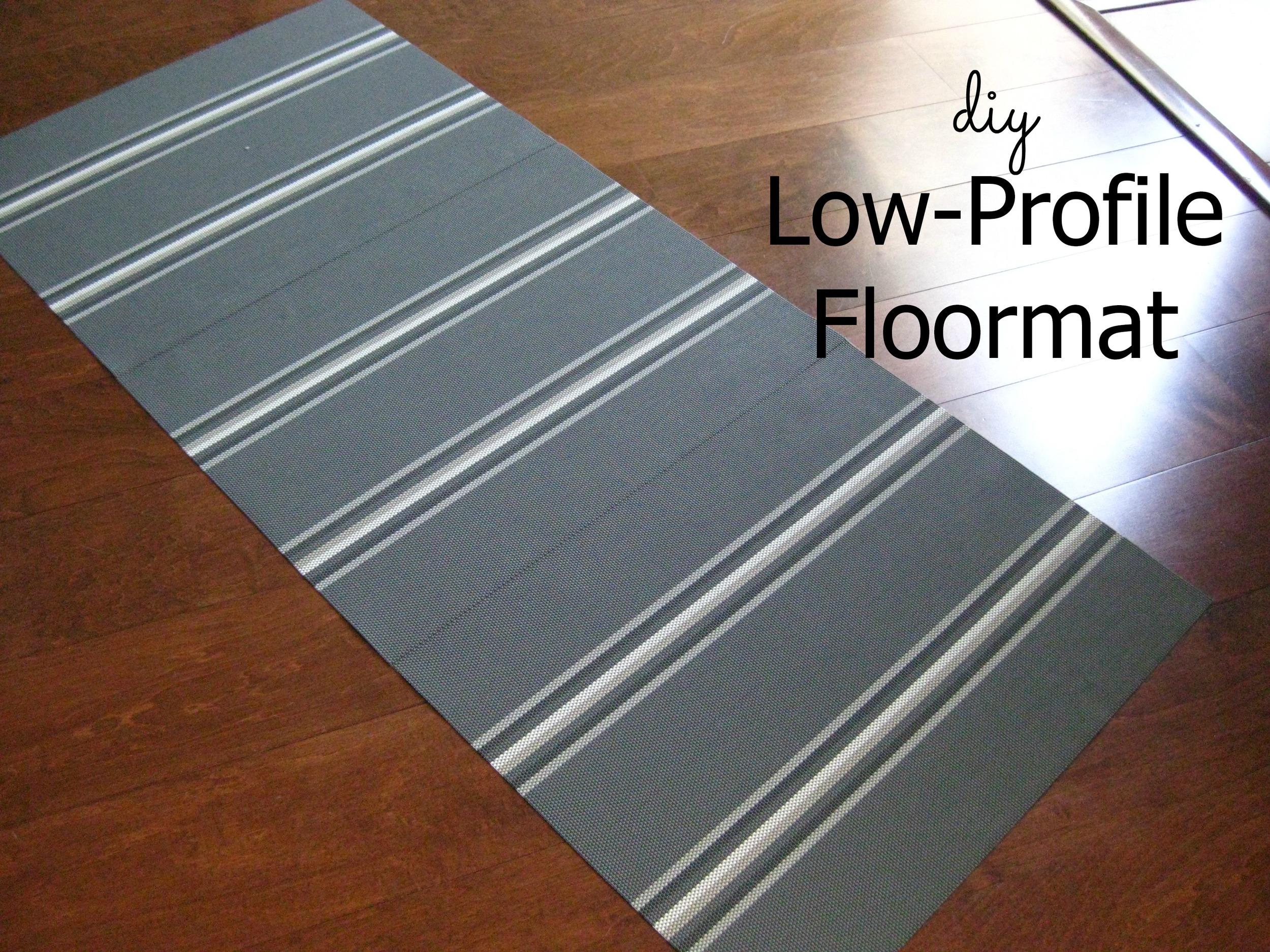 DIY Low-Profile Floormat