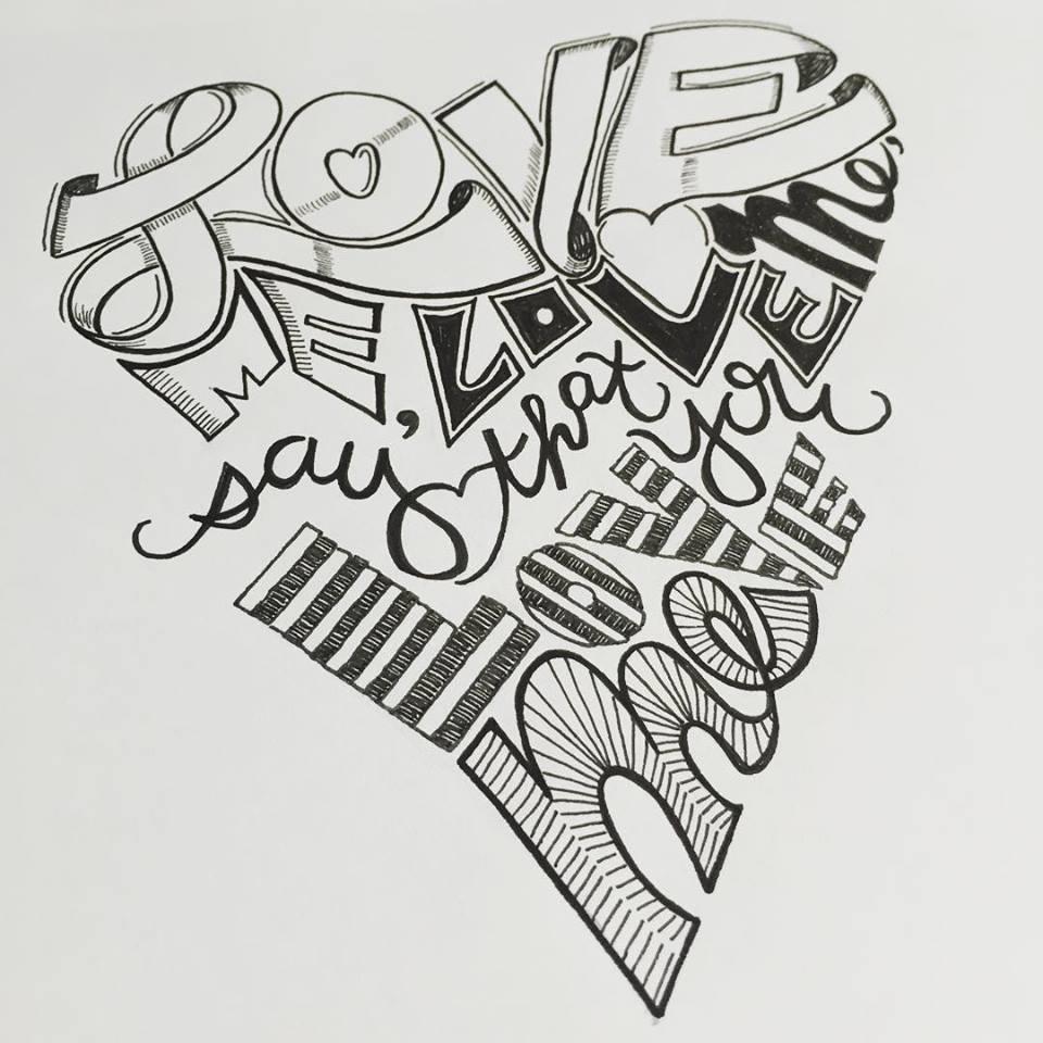 lettering - love me.jpg