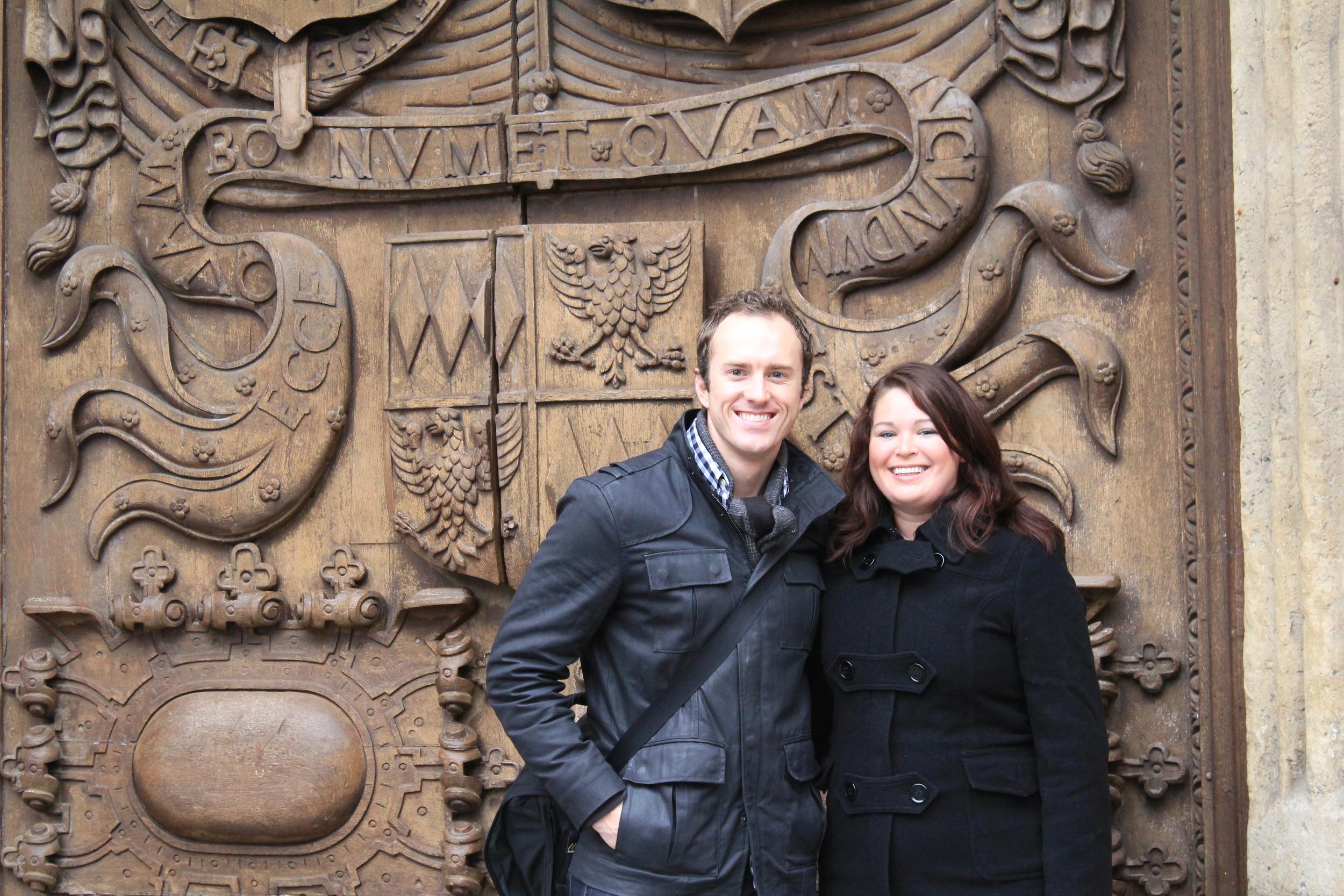 Ryan and Jen Pemberton, Bath, England
