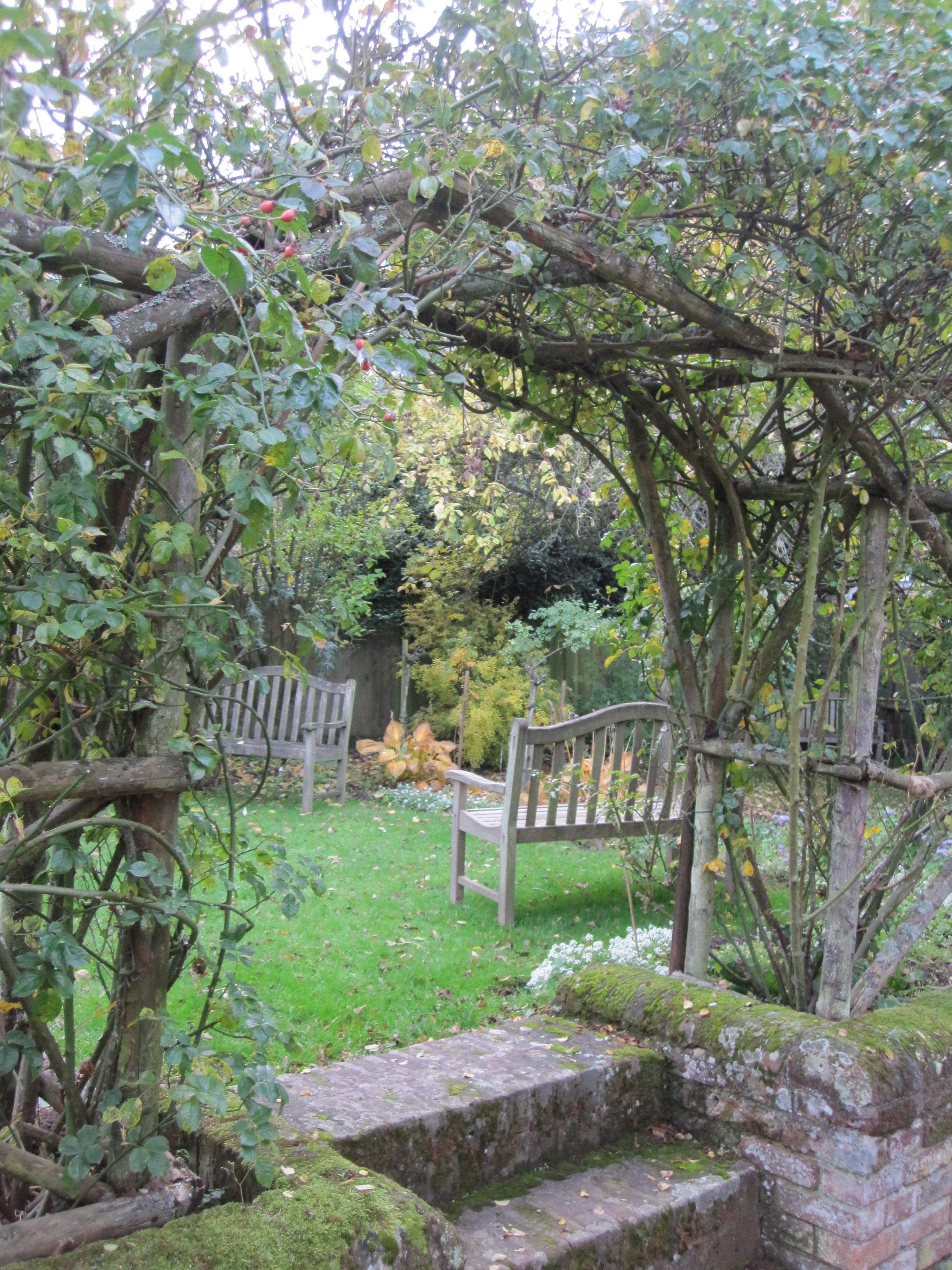 The Kilns garden, Oxford, England