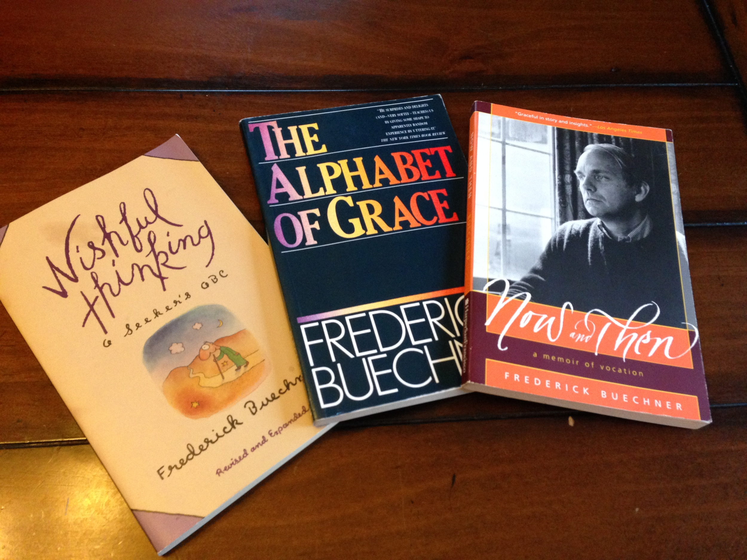 Essential Frederick Buechner readingon vocation and calling.