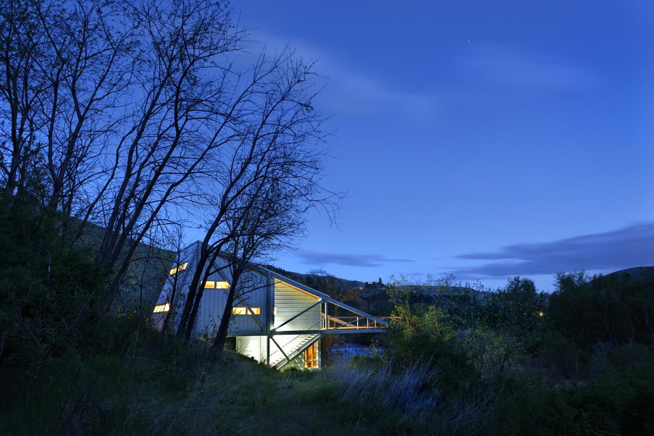 The Fishing House Potlatch River, Idaho