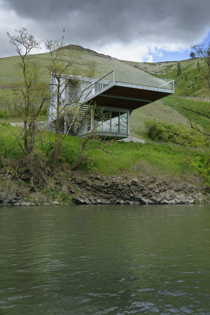 The Fishing House Potlatch River, Idaho