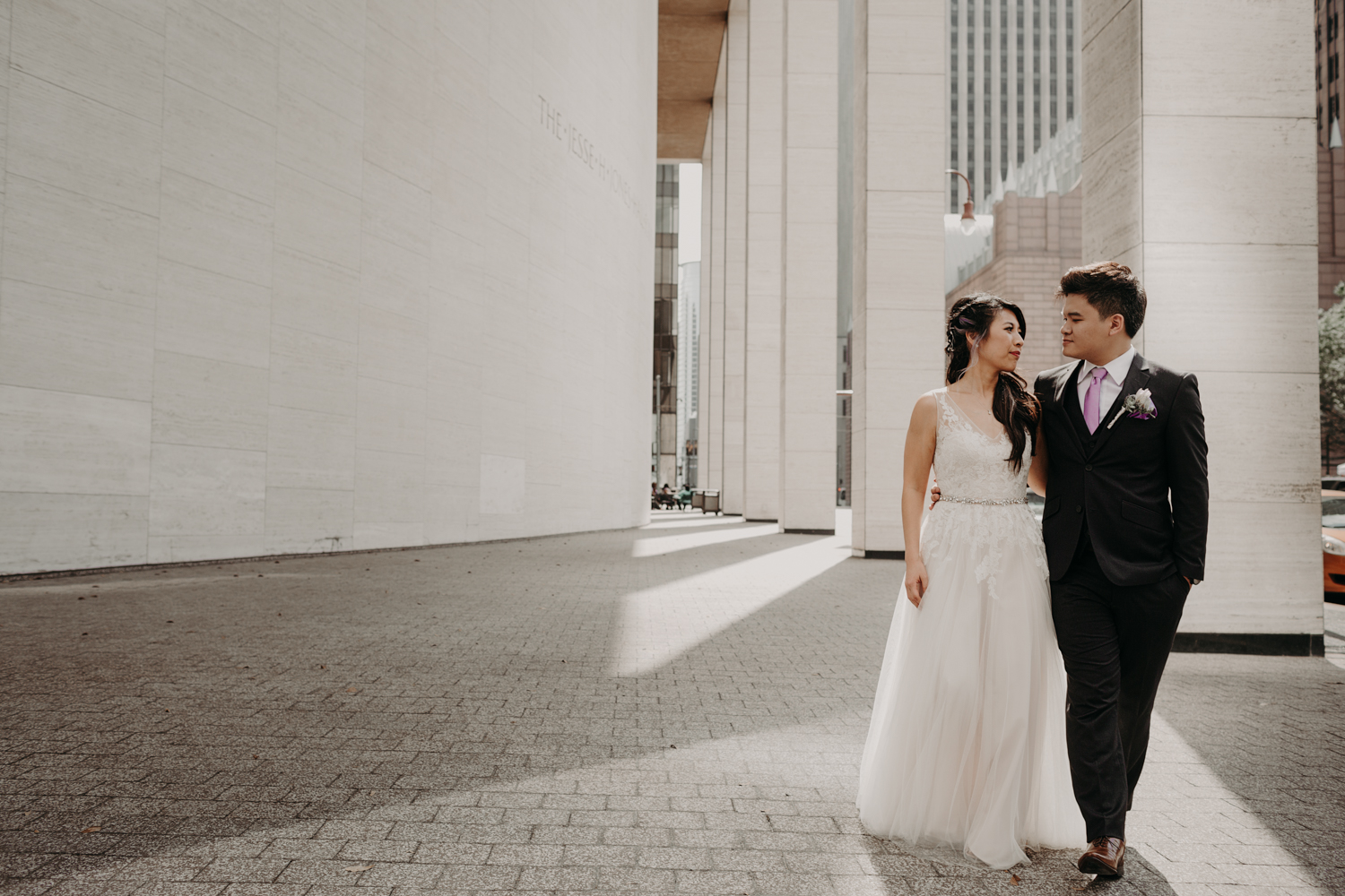 Brennans Houston Downtown Wedding Jones Hall