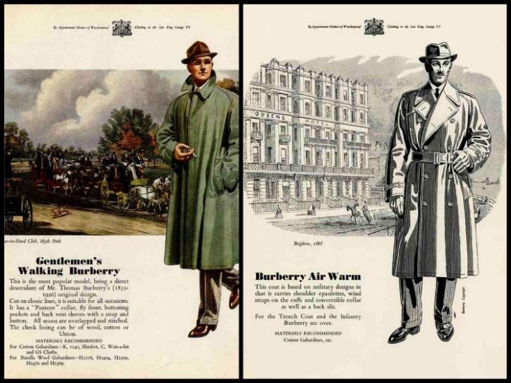 Vintage Burberry ad