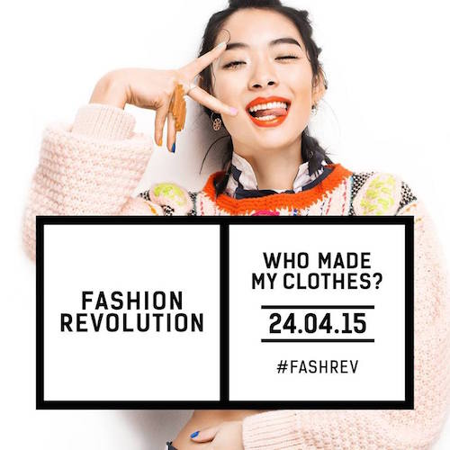 Join in on Fashion Revolution Day