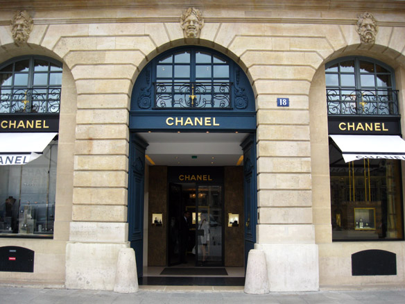 Chanel headquarters in Paris, France