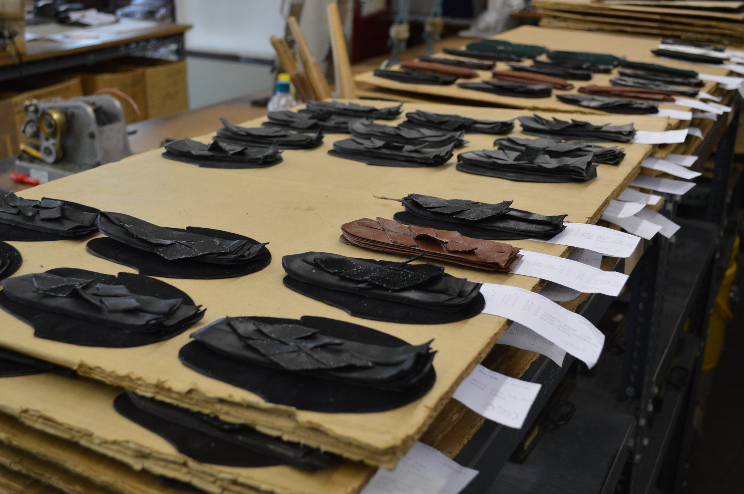 FitzGerald Morrell's UK workshop employs 3rd- and 4th-generation master glovemakers