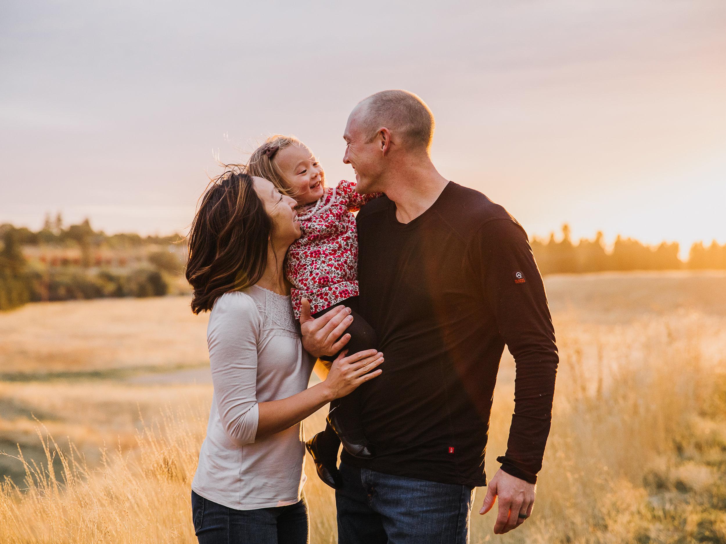 The Denham Family -