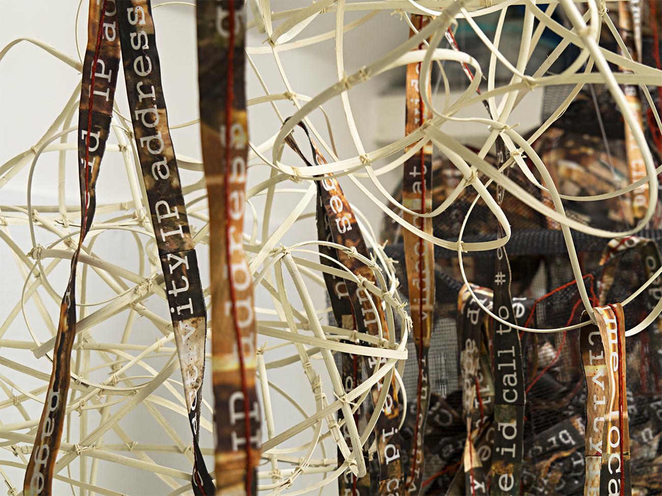 detail, data flow ribbons, 2015