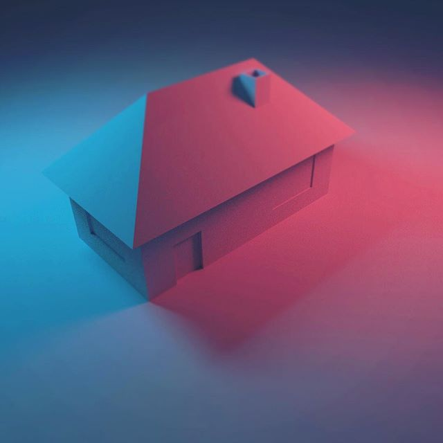 The House that Nick Built... Have been learning Blender for a couple weeks or so. It's been fun but that third dimension makes Illustrator seem like Microsoft paint. Phew! . . . #blender #blender3d #3d #rendering #render #lighting #moody #learning #simpleart #house #beginner #start #gottastartsomewhere #nevertoolate #design #color #contrast #lighting #light #lightingdesign