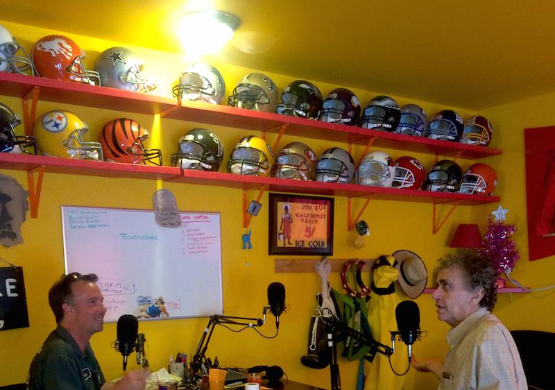 The Funhouse football helmet auction runs Sunday Sep 6 through Sunday Sep 13th, 2015