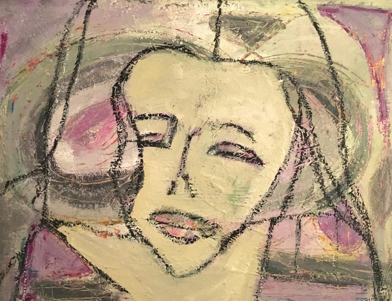"Aging Gracefully: 40""x30"", Acrylic on Canvas"
