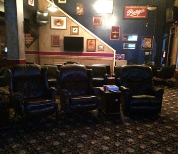 Cigar lounge seating