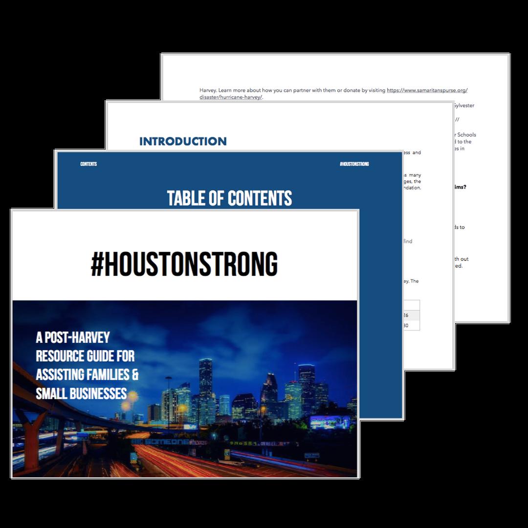 Hurricane Harvey Houston FAQ