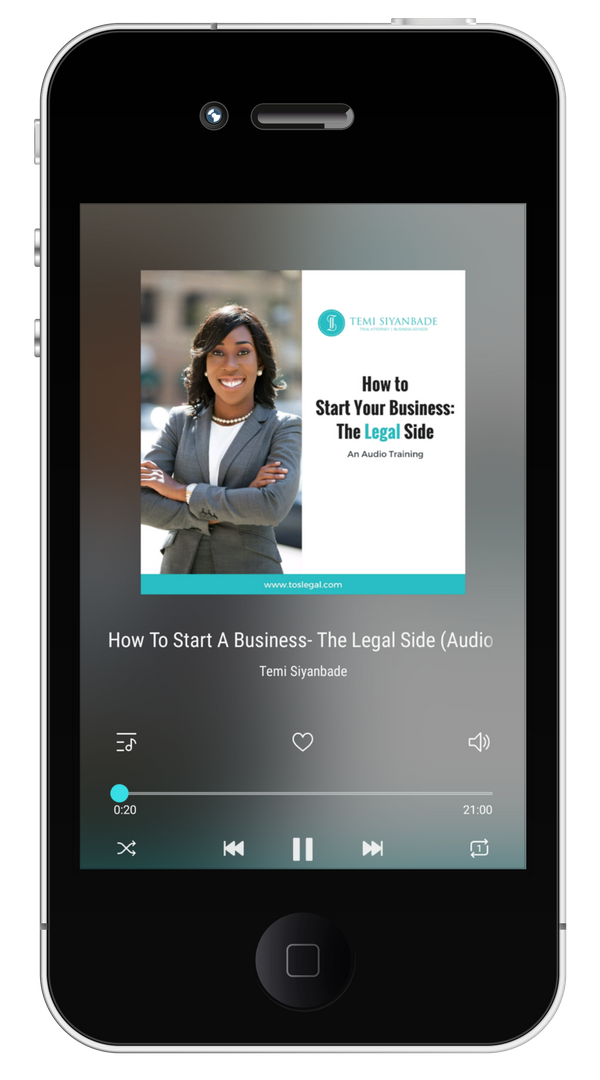 How to start Your Own Business Legal side