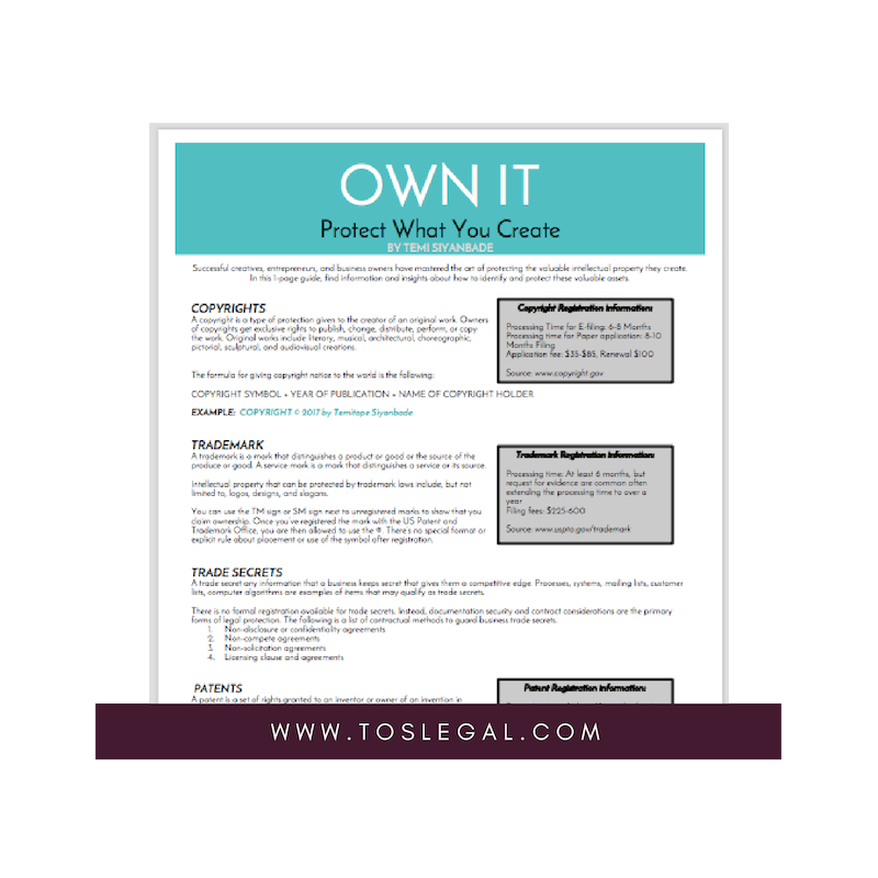 Own It: Protect What You Create IP | Legal Guide