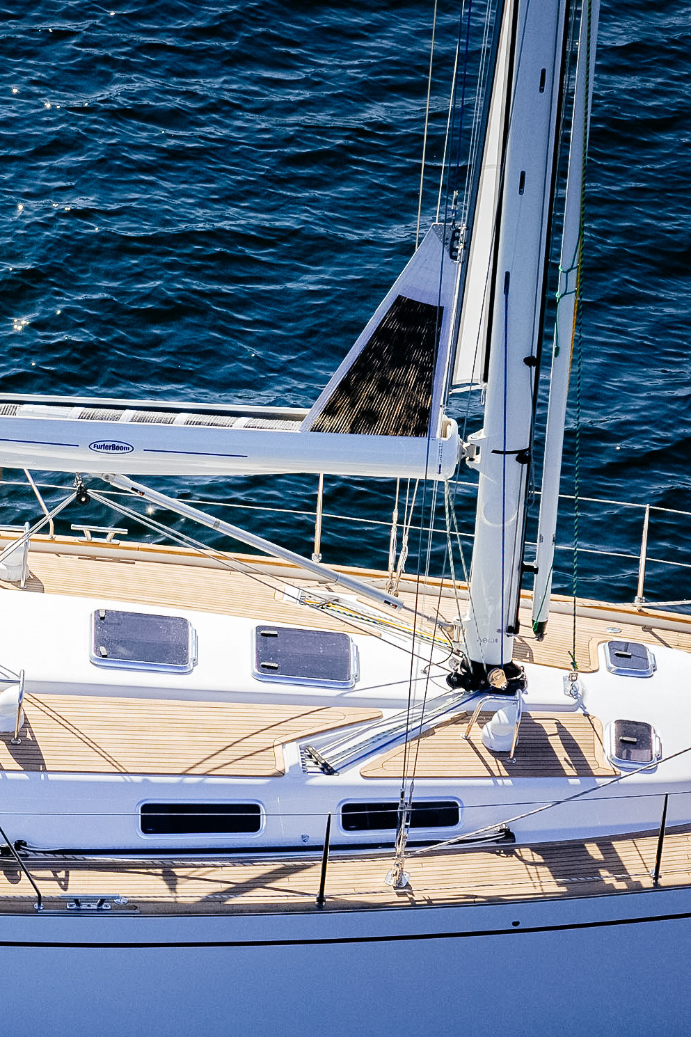 In-Boom  Boats that have standard masts, not set up for in-mast furling, can still benefit from the ease of a roller furling by way of upgrading to a furling boom. This is an expensive upgrade, but much less expensive than changing masts.