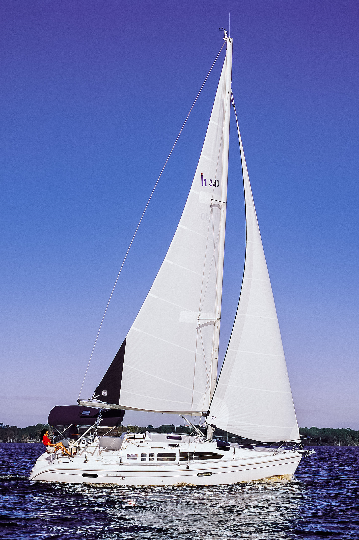 Batten-less  The most common furling main is the in-mast main with no battens.Without battens the sail has a concave leech, which makes the sail smaller, less powerful and less efficient. Many production cruising boats come standard this way.