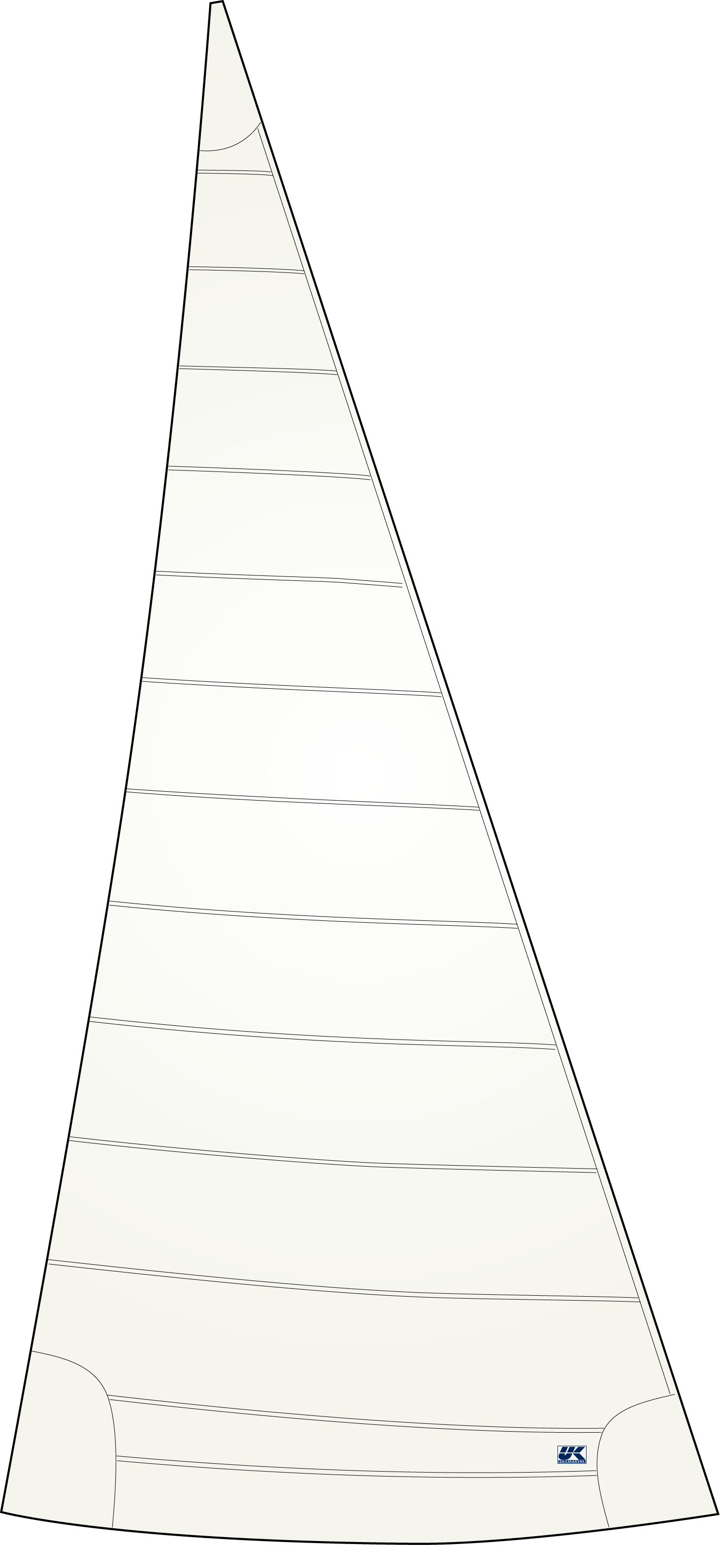 UK Sailmakers Flex Polyester Genoa