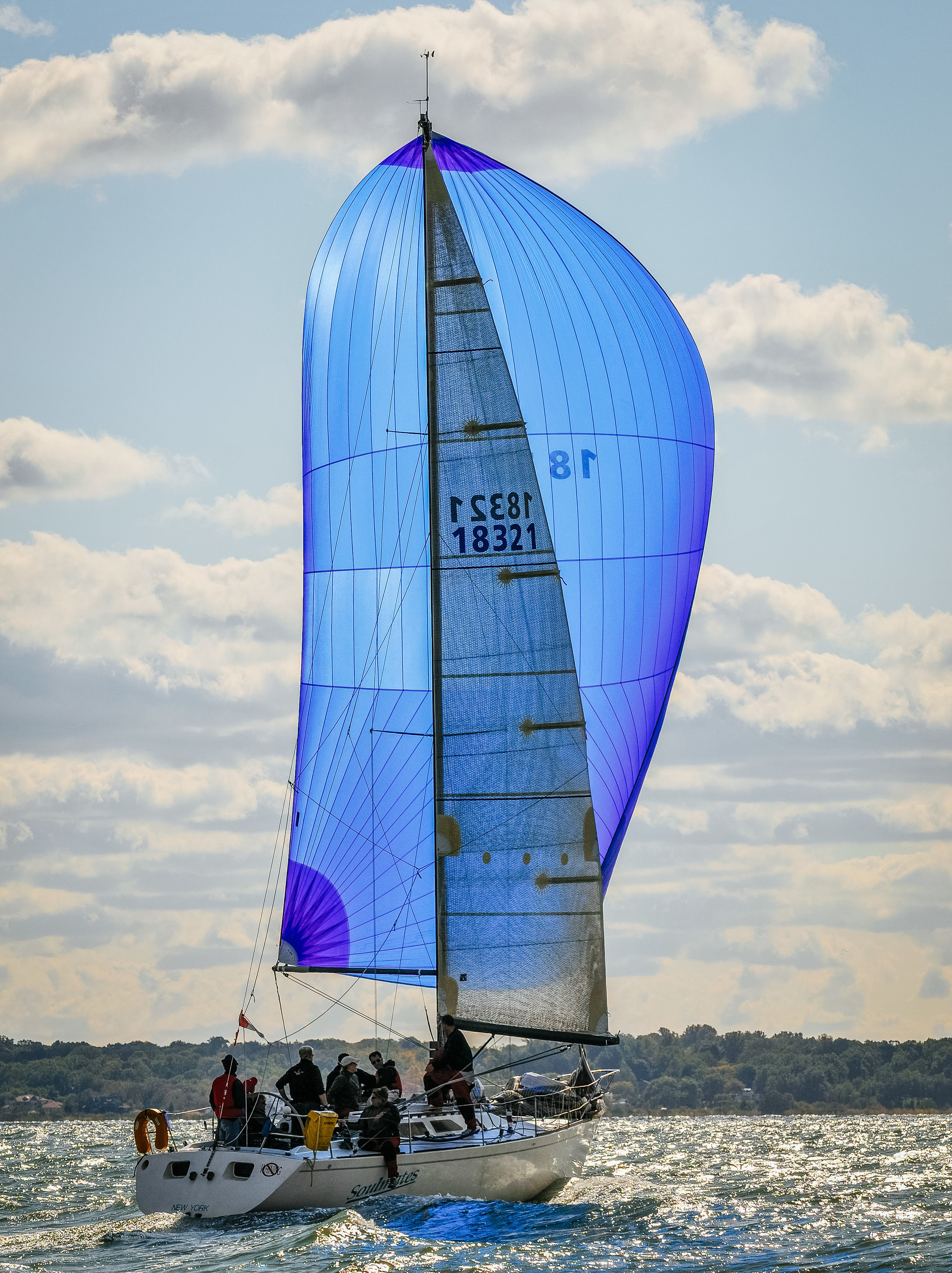 The Express 37 SOULMATES S2 Spinnaker