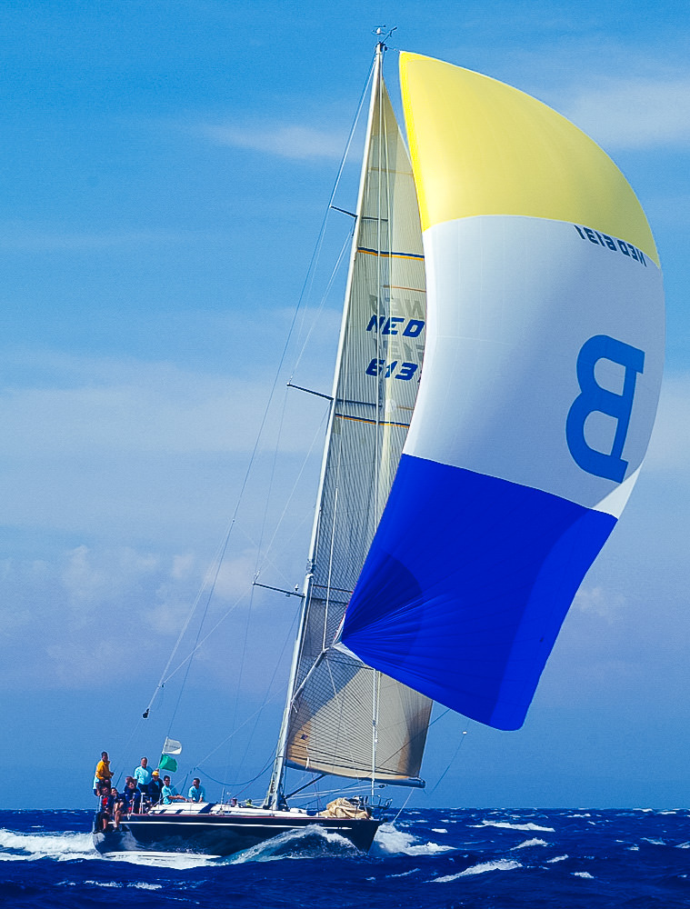 UK Sailmakers Swan 56 chute S4 Spinnaker