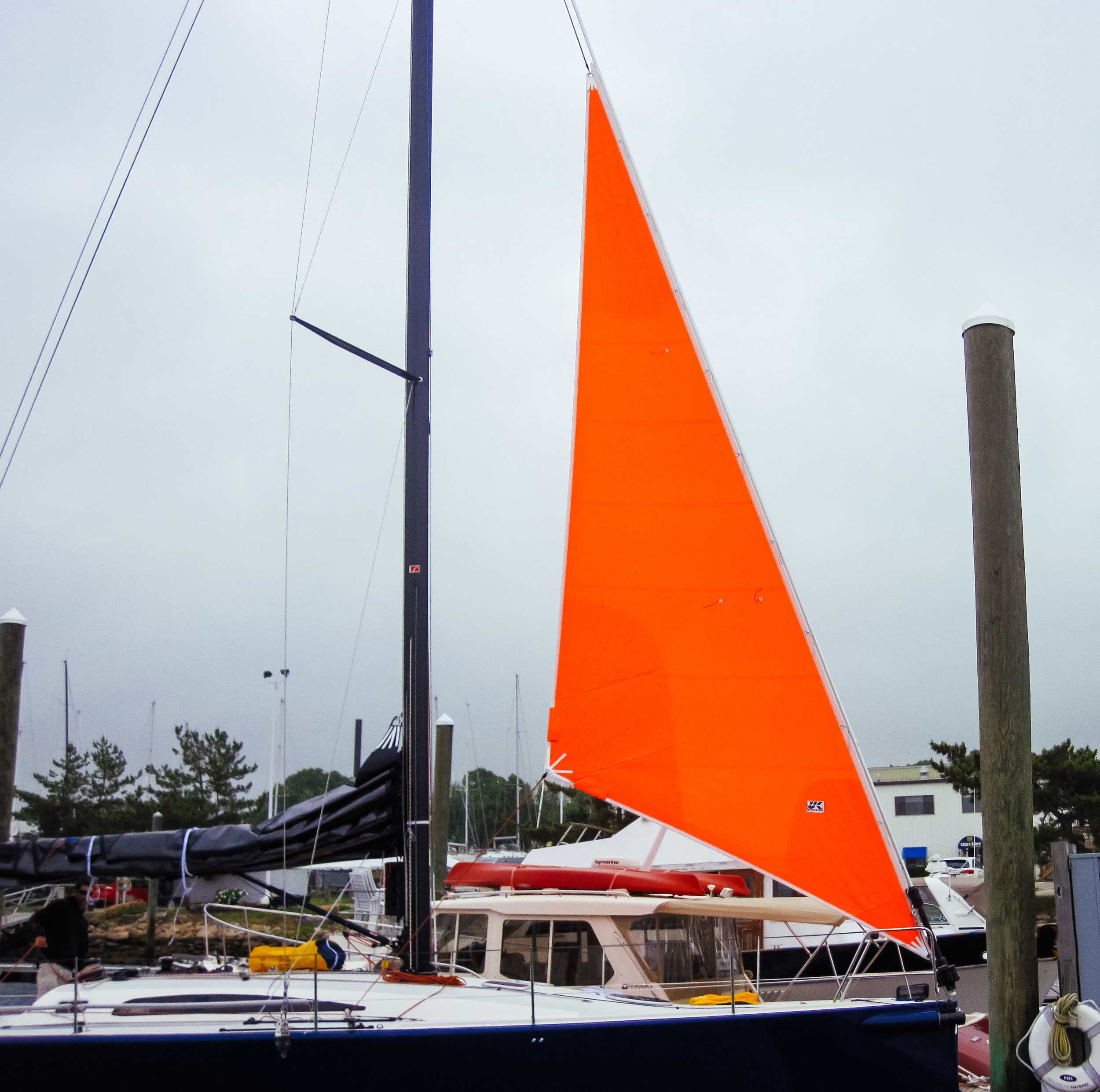 UK Sailmakers Storm jib