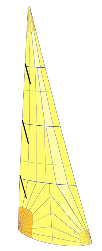 UK Sailmakers J70_AP_Jib_Radial