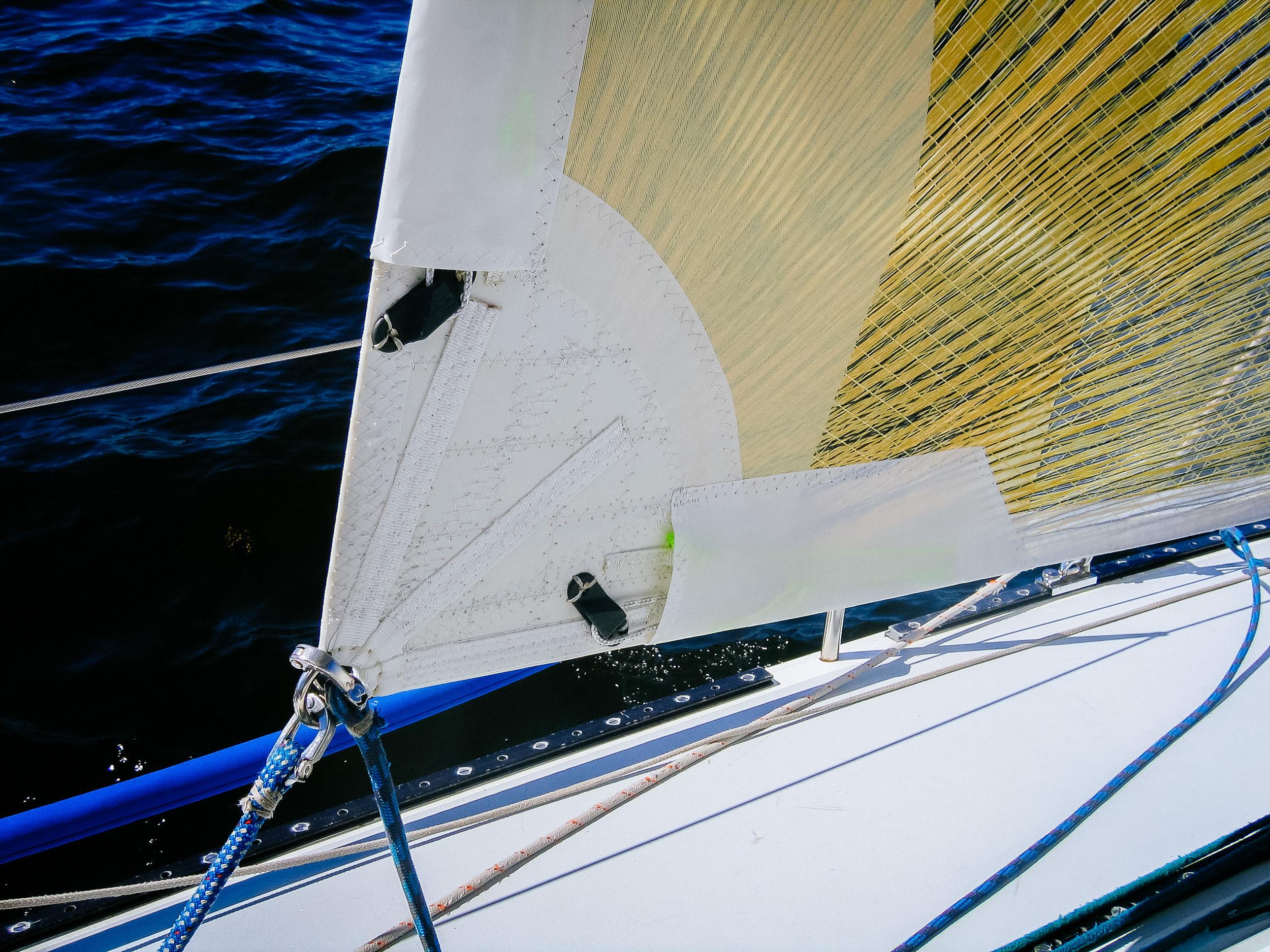 UK Sailmakers Leech and Foot Line Cleats