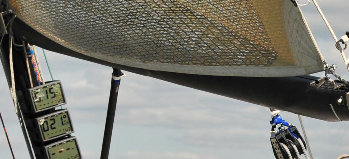 A loose foot mainsail.