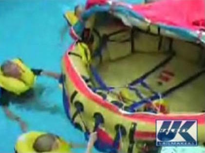 How to deploy a life raft