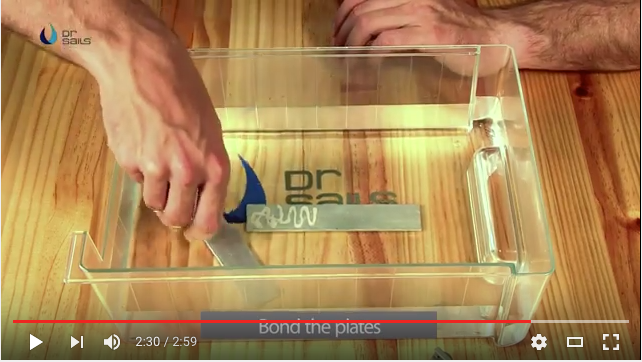 This video shows how flexible DR. Sails dries and how it can even be used underwater.