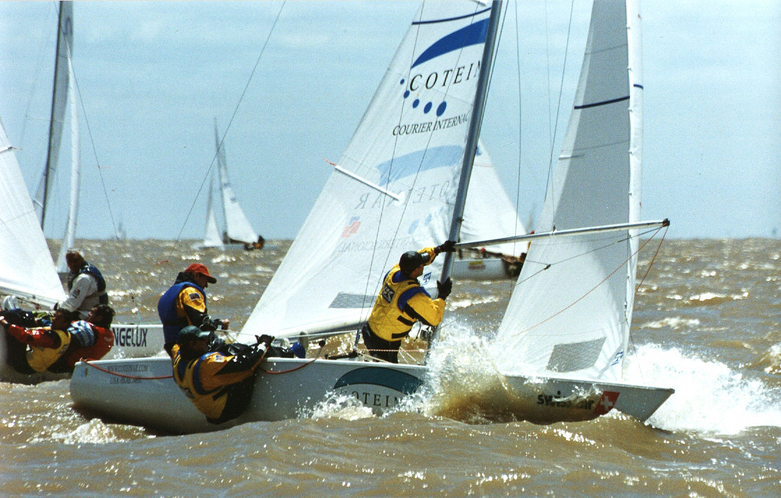 UK Sailmakers Soling