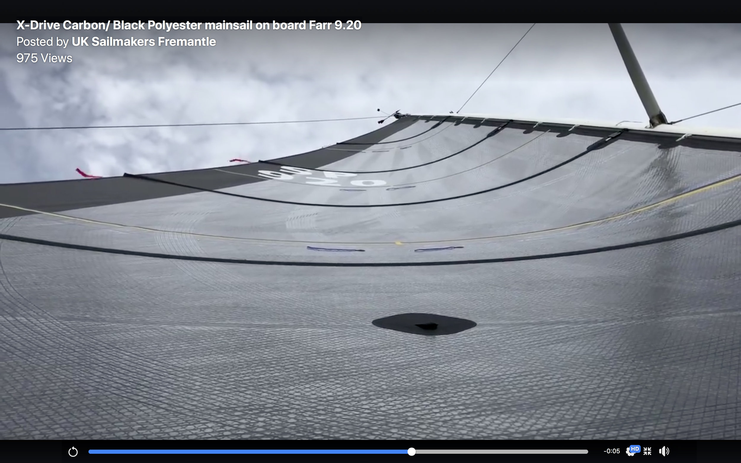 Here is a video of an X-Drive Carbon main. The X-Drive tapes are on a black polyester laminate.