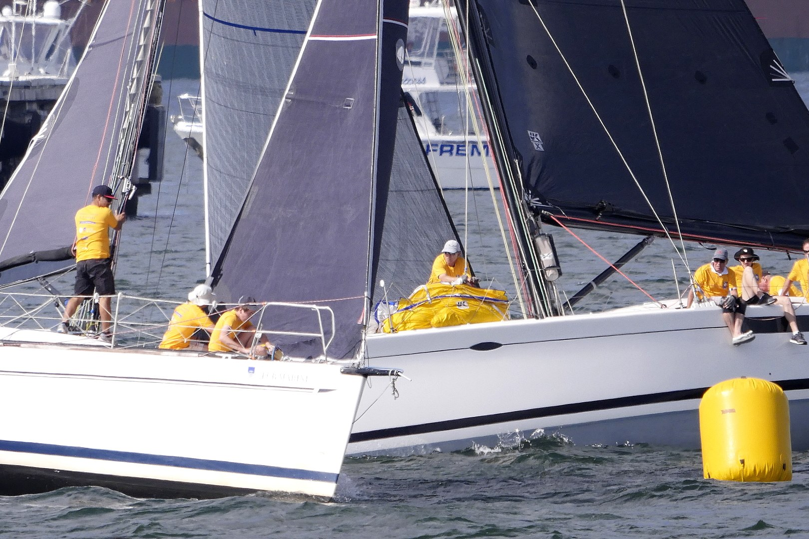 BETTER SAFE THAN SORRY WHEN RACING SAILBOATS