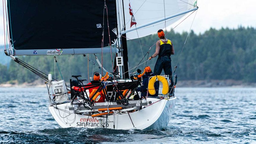 Team Shut Up and Drive's Figaro 2. Drew Malcolm photo.
