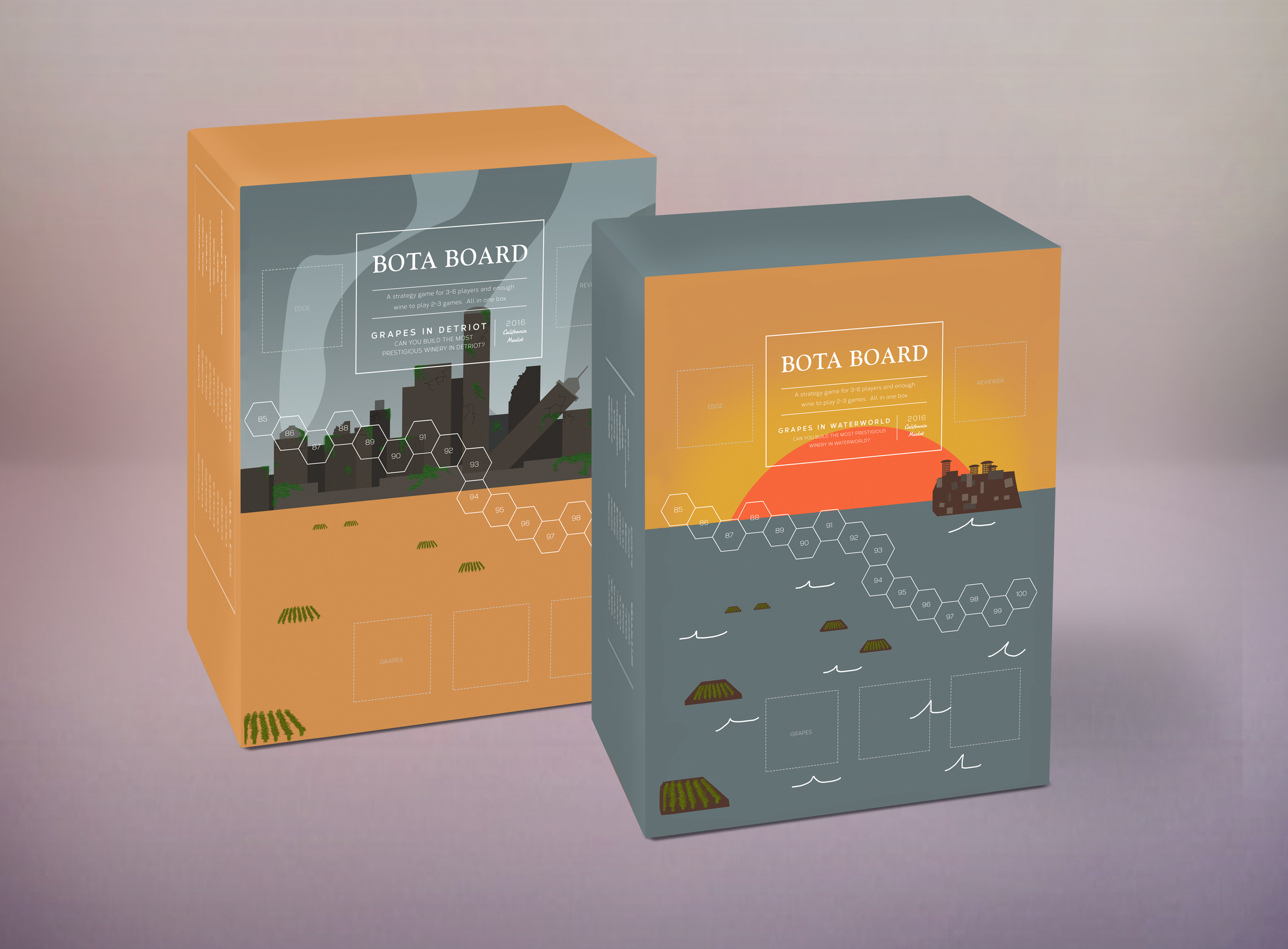 Detroit and Waterworld editions