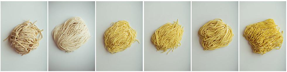 Noodle Varieties. Sun Noodle's product line. http://sunnoodle.com/our-noodles/