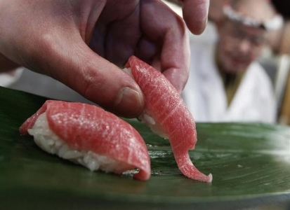 Umami Synergy.  Please stop by the soy sauce on the way into my mouth. Thx.  REUTERS/Issei Kato