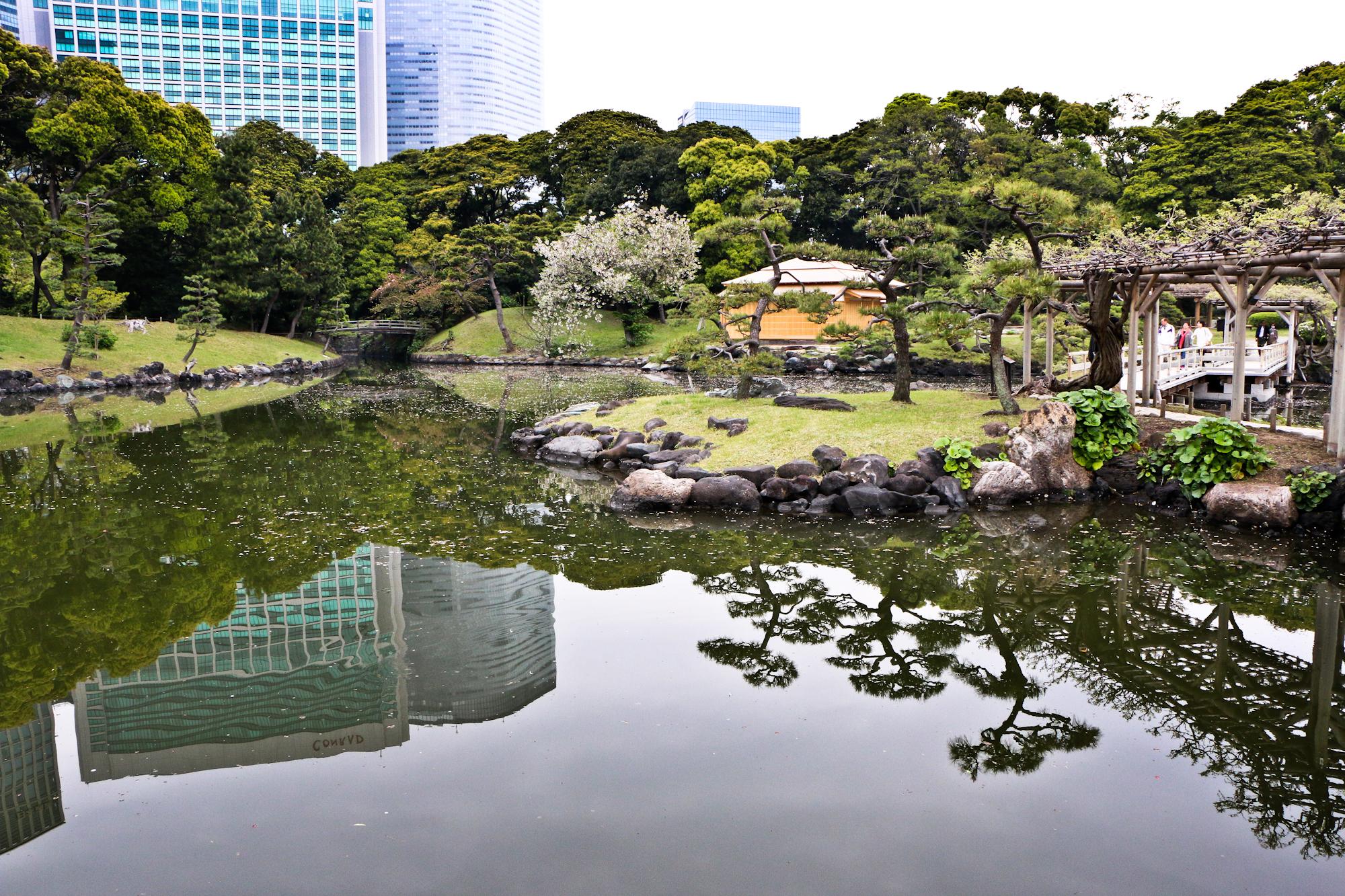 Hama-rikyu Gardens/Shimbashi, Tokyo