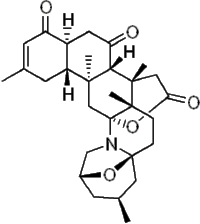 Norzoanthamine. Alkaloid molecule isolated from a sea anemone.