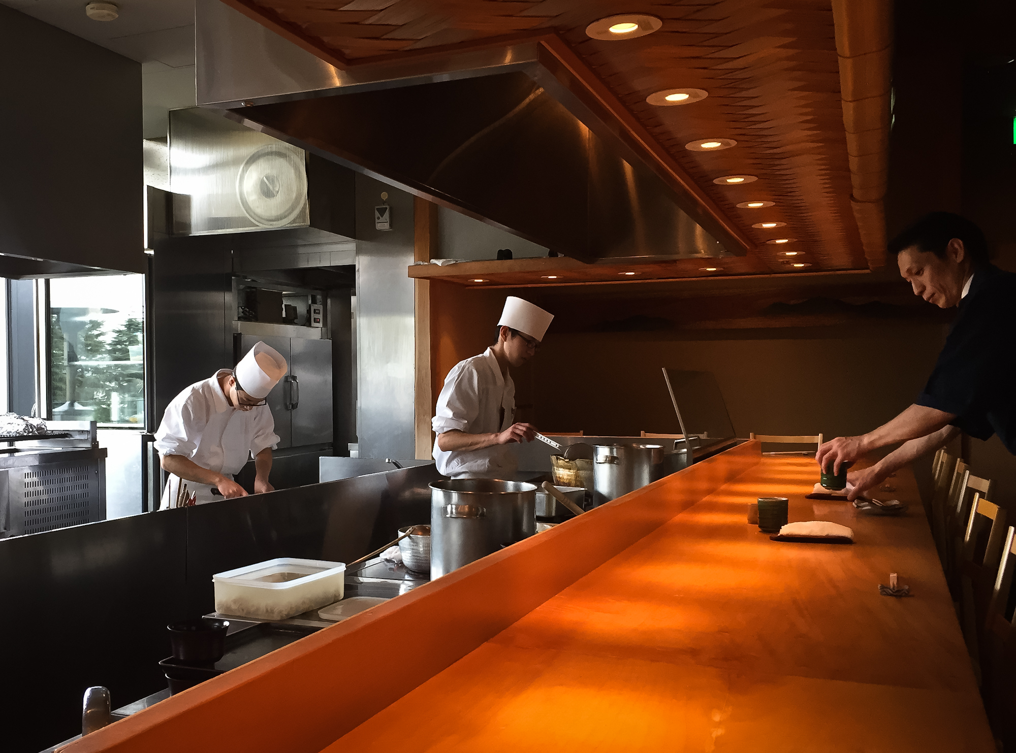 Tan-etsu Restaurant. Tokyo Midtown.