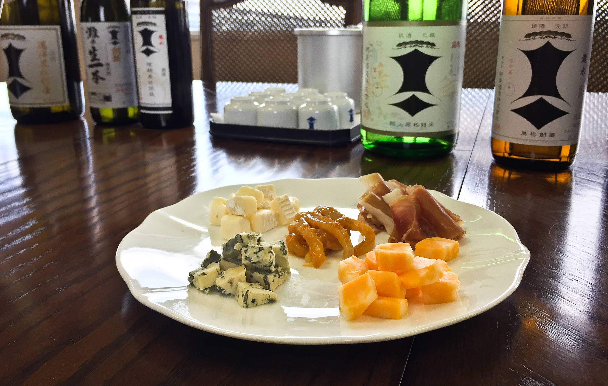 Sake and Cheese.  Sake tasting with the owners of Kenbishi. This was eye-opening, and you can rest assured sake and cheese will be coming to Shiba Ramen and The Periodic Table.